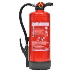 Büro-Feuerlöscher 9 Liter Frostsicher