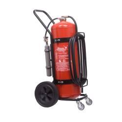 Pulver Feuerlöscher Fahrbar 25-50 Kilo