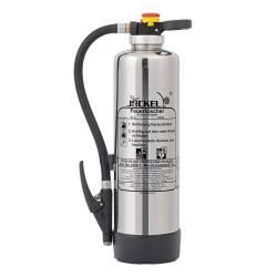 Schaum-Feuerlöscher Chrom 6 Liter SK6J Bio21