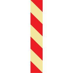 Langnachleuchtende Treppenprofile