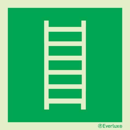 Rettungszeichen Symbole Rettungsleiter