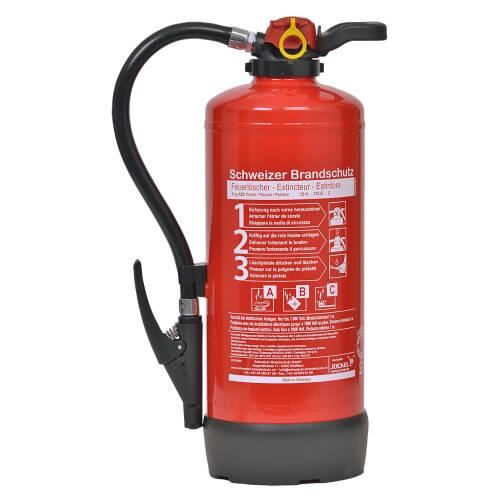 Pulver Feuerlöscher 9 Kilo P9J55
