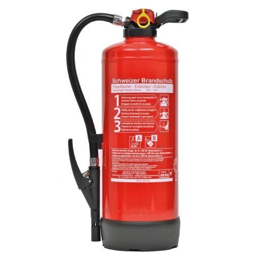 Schaum Feuerlöscher 9 Liter S9FJ34 Frostsicher