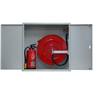 Standard Schrank mit Platz für 1 Feuerlöscher