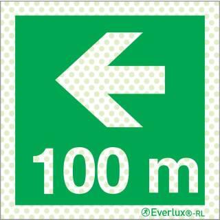 Links 100 Meter